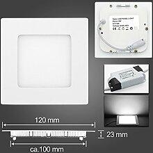 BAODE LED Panel Dimmbar Warm Weiß 6W Deckenlampe