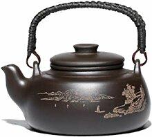 BAODI Gusseiserne Teekanne Teekanne Große