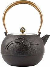 BAODI Gusseiserne Teekanne Teekanne mit