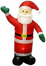 BAOSHISHAN Aufblasbarer Weihnachtsmann,