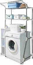 BAOYOUNI Toilettenregal Waschmaschinenregal