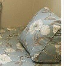 Baozengry American Pastoral Leder Sofa Bett Kissen Kissen Unterstützung Der Europäischen Auto Sitzkissen Baumwolle Nap Windows, Bid Preis: Je, Orchidee Dreieck Kissen (55*25*45)