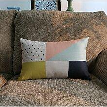 Baozengry Einfache Bettwäsche Sofa Kissen Kissen,