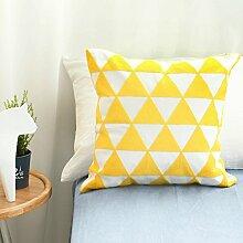 Baozengry Einfache Handtuch Bestickte Kissen