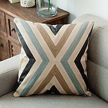 Baozengry Geometrische Büro Sessel Baumwolle