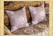 Baozengry Haushalt Bett Sofa Kissen Kissen Big Rückenlehne Core Auto Taille Kissen Kissen Bettwäsche Zimmer, 45 X 45 Cm Kern, Größe 2