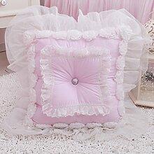 Baozengry Rosa Kissen Kissen Kissen Heimtextilien Bürobedarf., 45 X 45 Cm, Pink