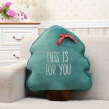 Baozengry Weihnachtsbaum Büro Sofa Kissen Kissen,