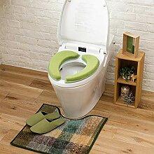BAOZIV587 Dicke warme Toilettensitz niedrige