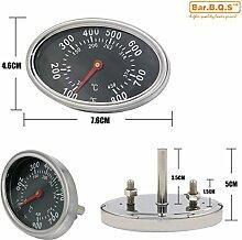 Bar.B.Q.S 01T14 7.6cm Temperaturregler Kochen Barbecue Barbecue Grill Ofen-Raucher-Grill New BBQ Smoker Templehre Thermometer