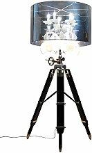 Bar Beleuchtung Stehleuchte Kristall Tripod