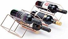 Bar Craft Weinregal stapelbar für 7 Flaschen aus