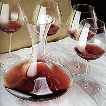 Bar Dekanter Wein Bleifrei Kristall Glas