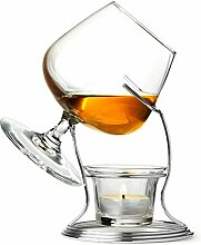bar@drinkstuff Cognac & Brandy Warmer with Glass