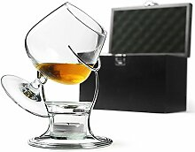 bar@drinkstuff Deluxe Cognac & Brandy Wärmer Set