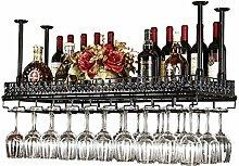 Bar Hang Weinregal Weinglas Halter, europäischen Haushalt Rotweinglas Becher Hanger -Weinglasgestell (größe : 60*35cm)