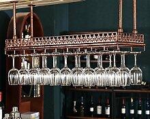 Bar Hang Weinregal Weinglas Halter, europäischen Haushalt Rotweinglas Becher Hanger -Weinglasgestell (größe : 100*35cm)