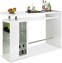 Bar Hausbar Cocktailbar Bartheke | Dekor Weiß