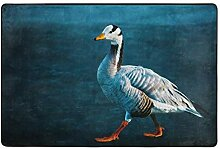 Bar-Headed Goose Badezimmer Dekor Matte, Dusch