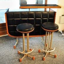 Bar mit Zwei Hockern, 1960er