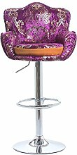 Bar Stuhl / Bar Stuhl / Lift Bar Stuhl / Schwenk Rückenlehne Hochstuhl / stilvolle einfache Bar Hocker ( stil : D )