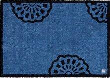 Barbara Becker Fußmatte BB Lace true blue 39 x 58