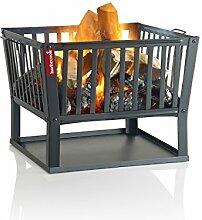 Barbecook Feuerkorb für Holzfeuer eckig