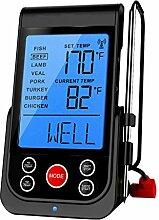 barbecook Funk-Thermometer Grillzubehör, schwarz,