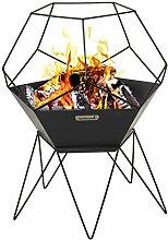barbecook Jura Feuerschale schwarz 60x 60x
