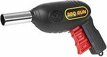 Barbecue BBQ Gun Flame Kohle Grill Fan Ballows