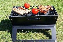 Barbecue-Elektrogrill schwarz, Holaroses