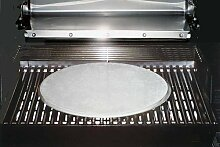 Barbecue Grill Pizza Baking Stone by FibraMent-D