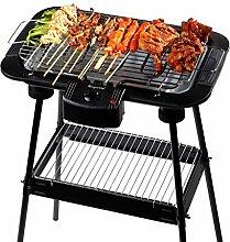 Barbecue Grill, Portable Edelstahl Barbecue BBQ Utensil 48 * 35 * 74cm