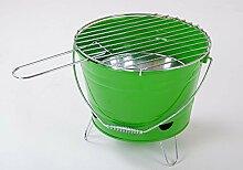 Barbecue Grilleimer div. Farben, Farbe:silber