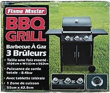 Barbecuegrill mit 3 Gas Brennern