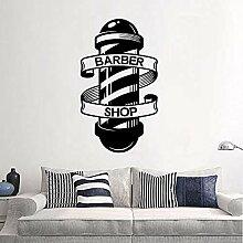 Barbershop Aufkleber Name Chop Brot Aufkleber