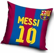 Barcelona Messi gefüllte Kissen 40 x 40 cm