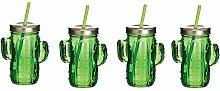barcraf Glaswaren Cactus Trinken Glas Trinkglas