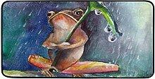 Bardic Rulyy Wasserfarben-Frosch-Teppich,
