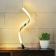 Bares - LED Tischlampe Dimmbar - Moderne Spiral