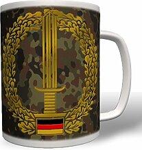 Barettabzeichen Ausbildung Wappen Emblem Einheit Truppe KSK - Tasse Becher Kaffee #1958