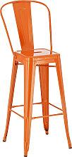 Barhocker Aiden-orange