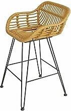 Barhocker aus Massivholz Barhocker Stuhl