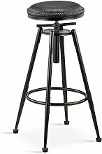 Barhocker Industrial Style Dining Chair, PU Leder