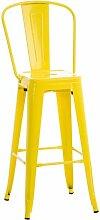 Barhocker Maguire LoftDesigns Gestellfarbe: Gelb