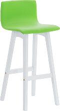 Barhocker Taunus Kunstleder-grün-Weiß