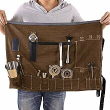 Barkeeper-Set, Rolltasche, tragbar, groß, für