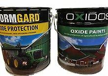 Barn Paint Farbe–Landwirtschaftliche–seidenmatt–Dunkelgrün–Öl basierend–19Liter