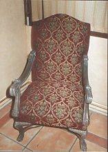 Barock Armlehner Rokoko Stuhl Antik Stil MoCh00113