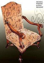 Barock Armlehner Sessel Antik Stil MoCh00111